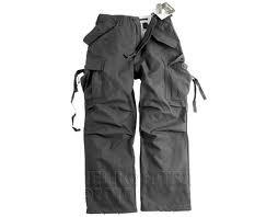 Spodnie wojskowe z kieszeniami M65