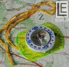 Kompas/busola z linijką - namapowy Niemcy