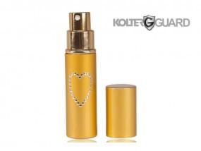 Gaz pieprzowy KOLTER GUARD imitujący szminkę / perfumy - 10ml kolory: złoty, fioletowy, biały