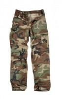 Spodnie wojskowe TEXAR BDU Ripstop woodland