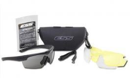 Okulary balistyczne ESS zestaw CROSSHAIR 3LS